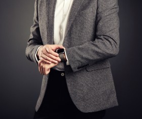 Handsome young man in business suit Stock Photo 01