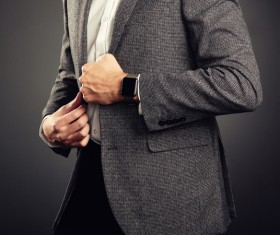 Handsome young man in business suit Stock Photo 02