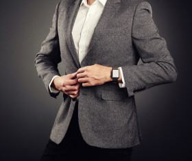 Handsome young man in business suit Stock Photo 04
