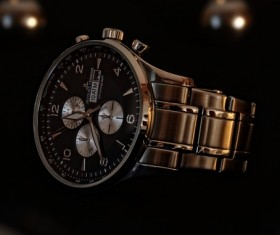 High-end mens brand watches Stock Photo