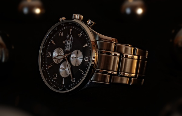 High end mens brand watches Stock Photo