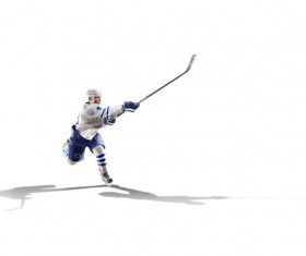 Hockey player Stock Photo 02