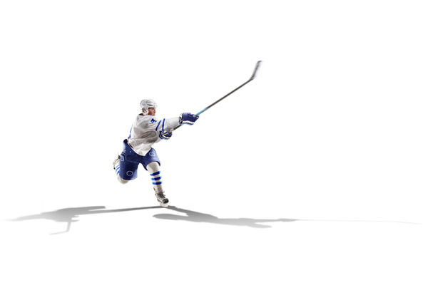 Hockey player Stock Photo 02