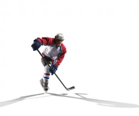 Hockey player Stock Photo 03