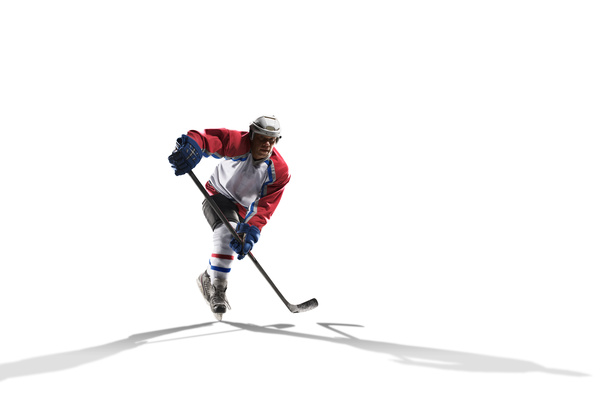 Hockey player Stock Photo 03