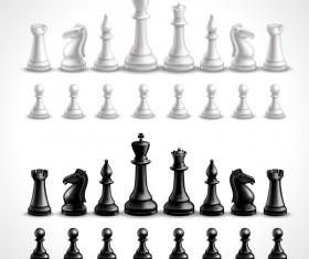 International chess background design vector 04