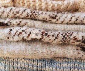 Knitted Warm Clothes Stock Photo 10