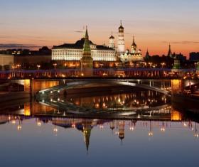 Kremlin at night Stock Photo 06