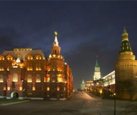 Kremlin at night Stock Photo 07