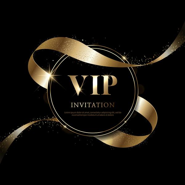 Luxury black with golden vip invitation card vector 04 free download luxury black with golden vip invitation card vector 04 stopboris Gallery