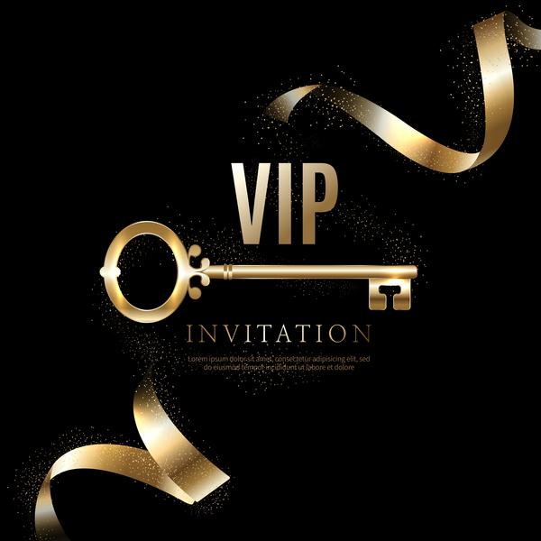 Luxury black with golden vip invitation card vector 08 free download luxury black with golden vip invitation card vector 08 stopboris Gallery