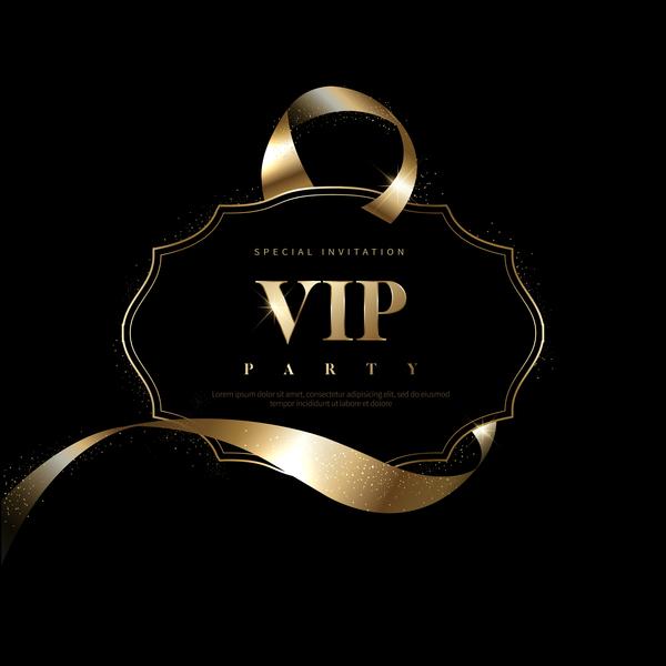 Luxury black with golden vip invitation card vector 09 free download luxury black with golden vip invitation card vector 09 stopboris Choice Image