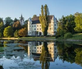 Luxury villas Appearance Stock Photo