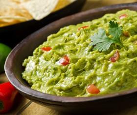 Mexican guacamole Stock Photo