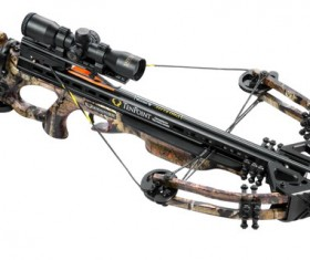 Military Cross crossbow Stock Photo