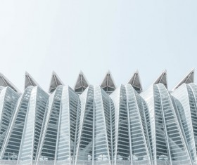 Modern architecture with glass decor Stock Photo