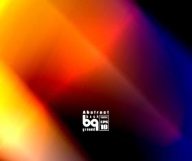 Multicolor blurs art background design vector 01