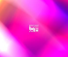 Multicolor blurs art background design vector 02