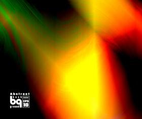 Multicolor blurs art background design vector 10