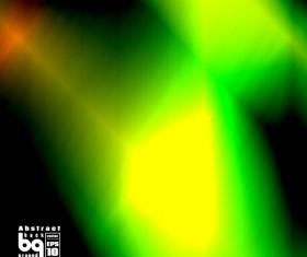 Multicolor blurs art background design vector 11