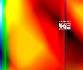 Multicolor blurs art background design vector 13