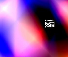 Multicolor blurs art background design vector 14
