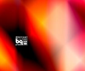 Multicolor blurs art background design vector 15