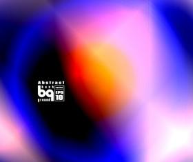 Multicolor blurs art background design vector 16