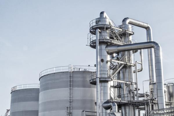 Oil refining field Stock Photo 02