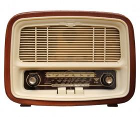 Old Radio Stock Photo 02