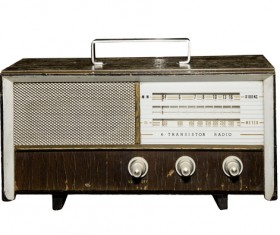 Old Radio Stock Photo 04
