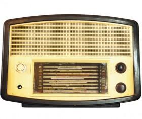 Old Radio Stock Photo 05