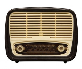 Old Radio Stock Photo 06