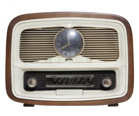 Old Radio Stock Photo 07