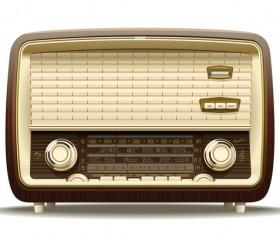 Old Radio Stock Photo 08