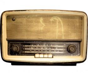 Old Radio Stock Photo 09