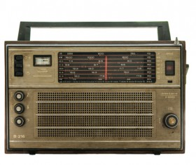 Old Radio Stock Photo 10