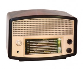 Old Radio Stock Photo 11