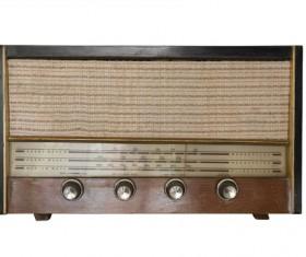 Old Radio Stock Photo 12