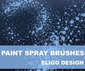 Paint Spray Photoshop Brushes