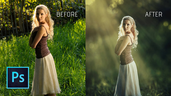 How to Create Your Own Light Ray Brushes From Scratch in ...