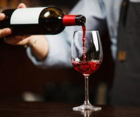 Red Wine Stock Photo 02