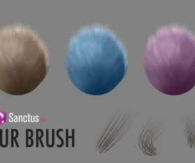 Sanctus Fur Photoshop Brushes