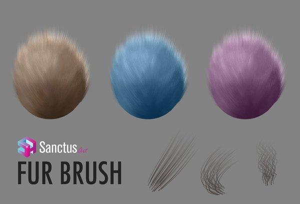 Sanctus Fur Photoshop Brushes