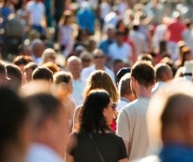 Street crowd Stock Photo 01