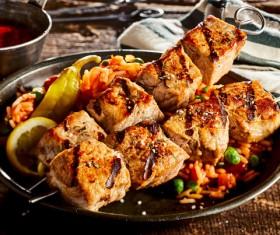 Tasty Kebab Stock Photo 01