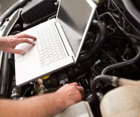 Technical vehicle maintenance Stock Photo 04