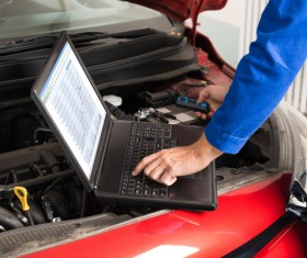 Technical vehicle maintenance Stock Photo 05