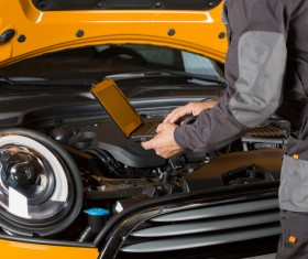 Technical vehicle maintenance Stock Photo 07