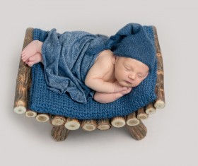 Various sleeping position cute baby Stock Photo 05